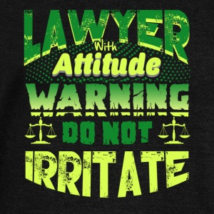 ATTITUDE LAWYER SHIRT - Women's Wideneck Sweatshirt