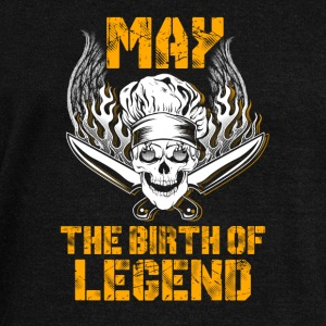 May the birth of legend Chef T-Shirts - Women's Wideneck Sweatshirt