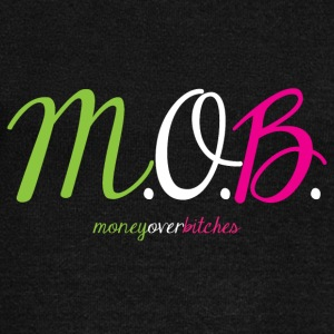 Money Over Bit*ches - Women's Wideneck Sweatshirt