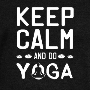 Keep Calm And Do Yoga - Women's Wideneck Sweatshirt