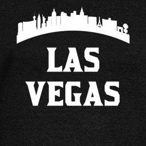 Vintage Style Skyline Of Las Vegas NV - Women's Wideneck Sweatshirt