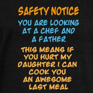 Chef And A Father Shirt - Women's Wideneck Sweatshirt