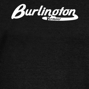 Burlington Vermont Vintage Logo - Women's Wideneck Sweatshirt