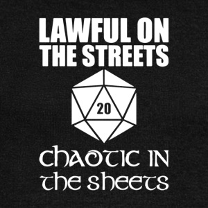 Lawful On The Streets Chaotic In The Sheets - Women's Wideneck Sweatshirt
