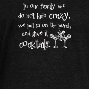 Crazy Family Cocktail - Women's Wideneck Sweatshirt