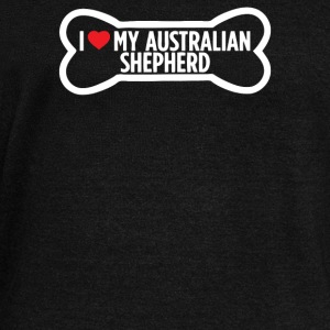 I Heart Love My Australian Shepherd - Women's Wideneck Sweatshirt