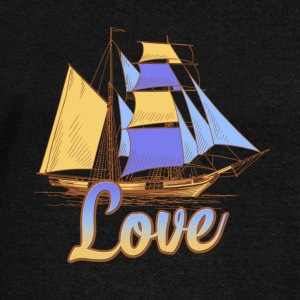Sailing Love Shirt - Women's Wideneck Sweatshirt