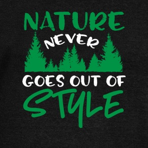 Nature Never Goes Out Of Style - Women's Wideneck Sweatshirt