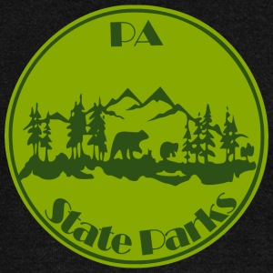 PA State Parks Bear Green - Women's Wideneck Sweatshirt