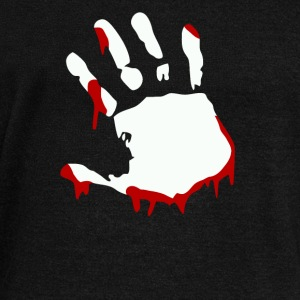 Bloody hand - Women's Wideneck Sweatshirt
