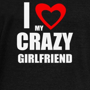 I Love My Crazy Girlfrien - Women's Wideneck Sweatshirt
