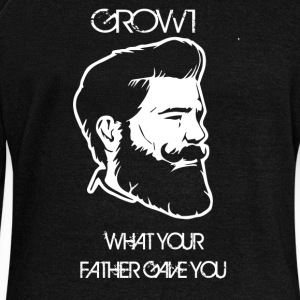 GROW WHAT YOUR FATHER GAVE YOU - Women's Wideneck Sweatshirt