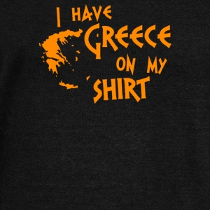 I Gave Greece On My Shirt - Women's Wideneck Sweatshirt