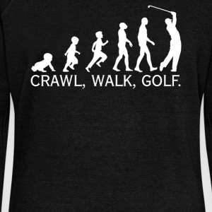 Crawl Walk Golf - Women's Wideneck Sweatshirt