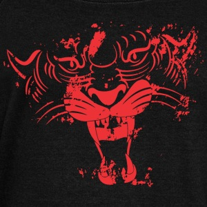 Red TIGER FACE - Women's Wideneck Sweatshirt