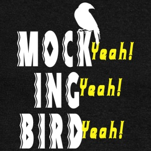 mock ing bird - Women's Wideneck Sweatshirt