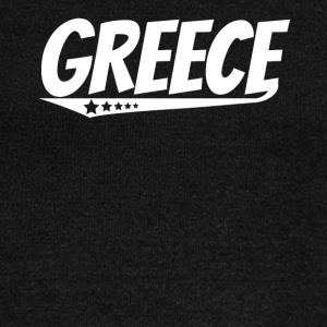 Greece Retro Comic Book Style Logo Greek - Women's Wideneck Sweatshirt