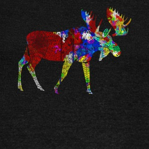 Moose Tee Shirt - Women's Wideneck Sweatshirt