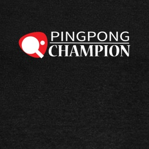 Ping Pong Champion Graphic Tee Shirt - Women's Wideneck Sweatshirt