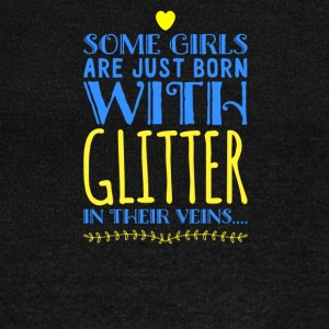 Some Girls Are Just Born With Glitter - Women's Wideneck Sweatshirt