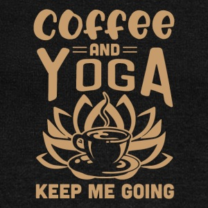 Coffee And Yoga Keep Me Going - Women's Wideneck Sweatshirt