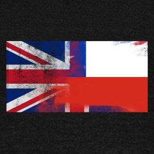 British Chilean Half Chile Half UK Flag - Women's Wideneck Sweatshirt