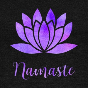 Namaste Lotus Flower - Women's Wideneck Sweatshirt