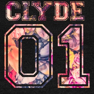 Clyde_01_vintage_flower_bunt2 - Women's Wideneck Sweatshirt