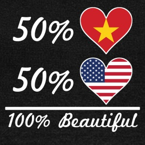 50% Vietnamese 50% American 100% Beautiful - Women's Wideneck Sweatshirt