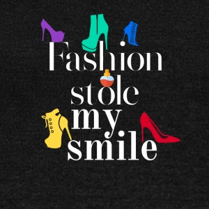 Fashion stole my smile - Women's Wideneck Sweatshirt