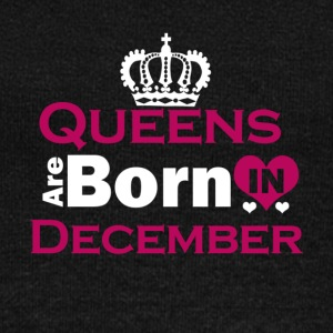 Queens are Born in December - Women's Wideneck Sweatshirt