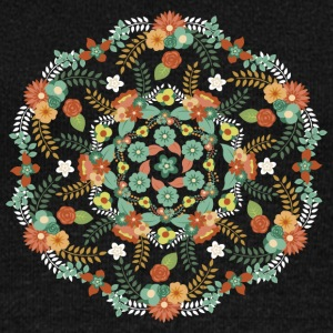 Flower mandala - Women's Wideneck Sweatshirt