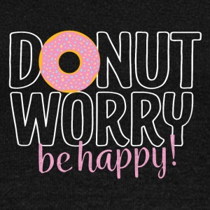 Donut worry - be happy - Women's Wideneck Sweatshirt