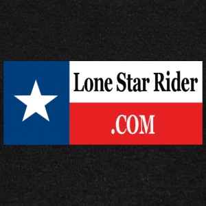Lone Star Rider Texas Flag - Women's Wideneck Sweatshirt