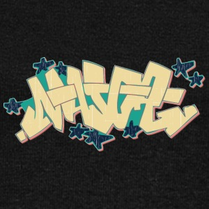 maj_graffiti_yellow - Women's Wideneck Sweatshirt