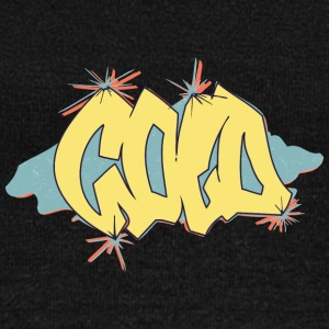 cold_graffiti_yellow - Women's Wideneck Sweatshirt