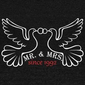 Mr And Mrs Since 1992 Married Marriage Engagement - Women's Wideneck Sweatshirt
