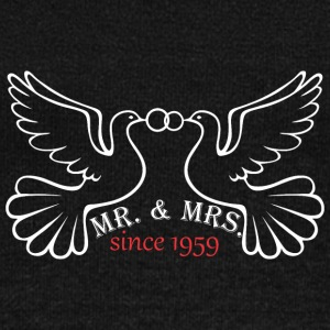 Mr And Mrs Since 1959 Married Marriage Engagement - Women's Wideneck Sweatshirt
