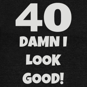 40 Damn I Look Good - Women's Wideneck Sweatshirt