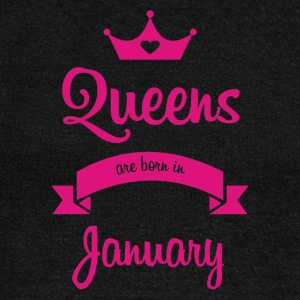 Queens are born in January - Women's Wideneck Sweatshirt