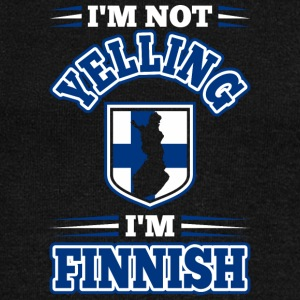 Im Not Yelling Im Finnish - Women's Wideneck Sweatshirt