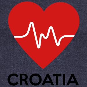 Heart Croatia - Women's Wideneck Sweatshirt