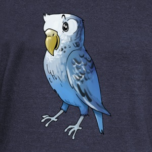 parakeet finch budgerigar budgie parot dove bird - Women's Wideneck Sweatshirt