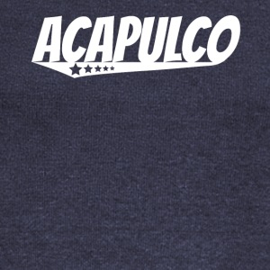 Acapulco Retro Comic Book Style Logo - Women's Wideneck Sweatshirt