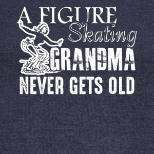 Figure Skating Grandma Shirt - Women's Wideneck Sweatshirt