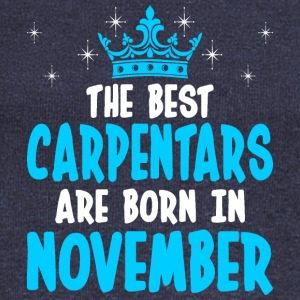 The Best Carpentars Are Born In November - Women's Wideneck Sweatshirt