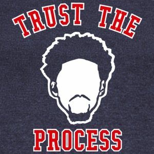 TRUST THE PROCESS TYPO - Women's Wideneck Sweatshirt