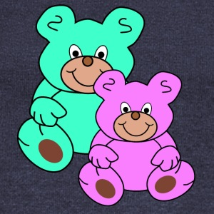 two teddy bears - Women's Wideneck Sweatshirt