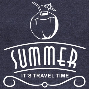 Summer Travel Time - Women's Wideneck Sweatshirt