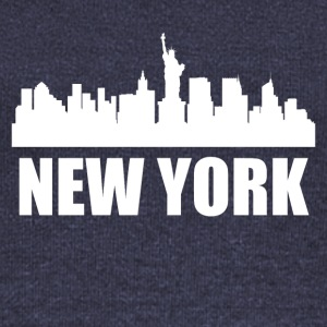 New York NY Skyline - Women's Wideneck Sweatshirt